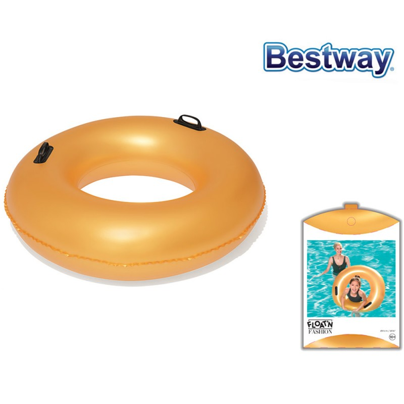 Salvagente Gold 91cm - Bestway - MazzeoGiocattoli.it