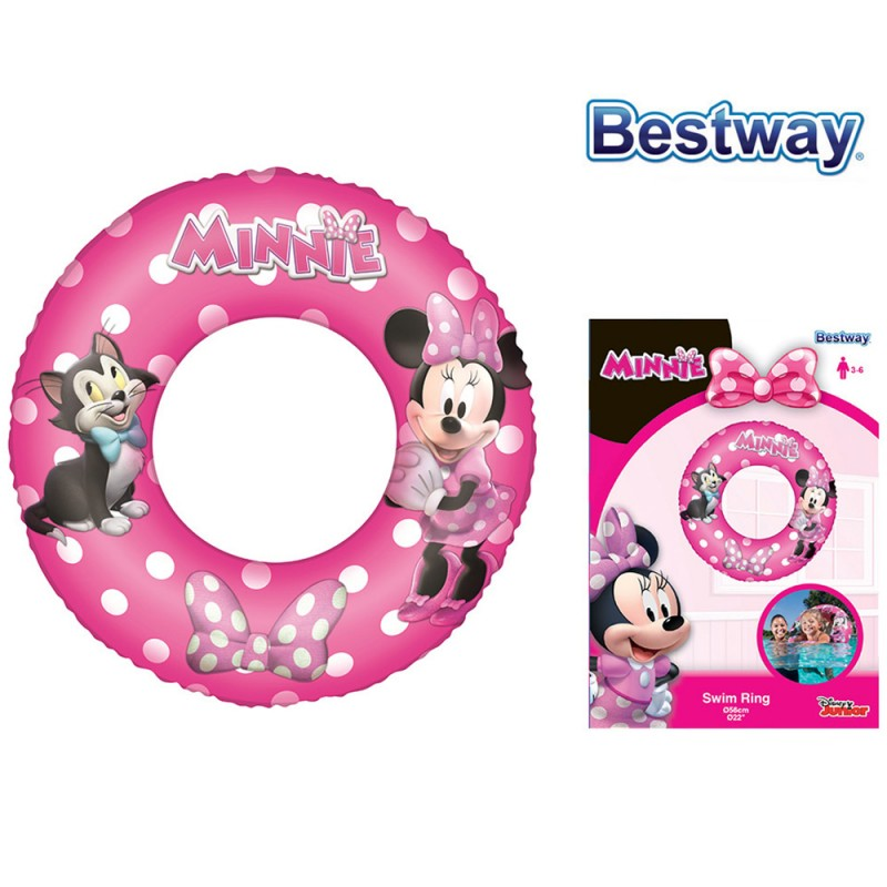 Salvagente Minnie 56cm - Bestway  - MazzeoGiocattoli.it