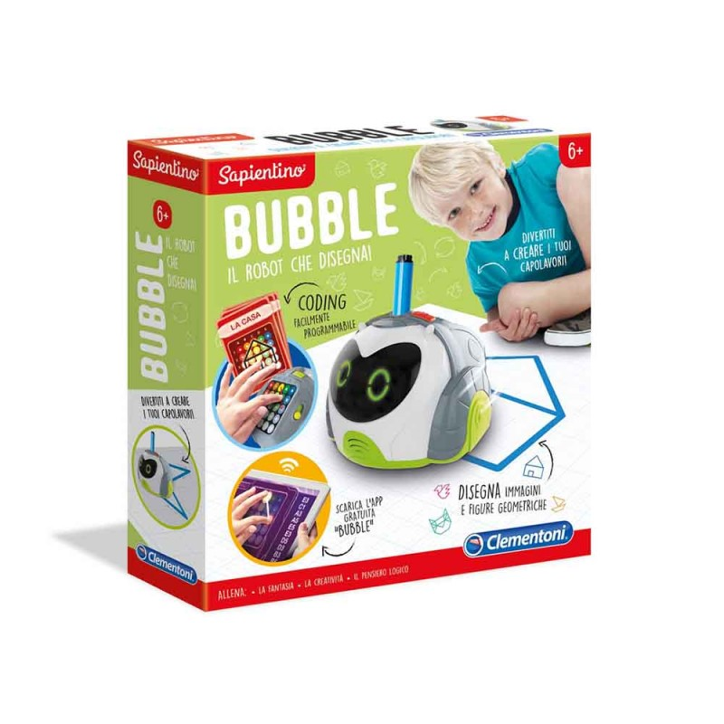 Sapientino-Bubble, Robot Educativo Per Bambini - Clementoni  - MazzeoGiocattoli.it
