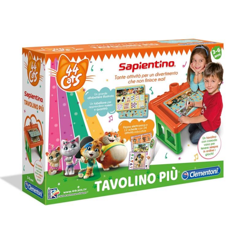 Sapientino - Tavolino Più-44 Gatti - Clementoni - MazzeoGiocattoli.it