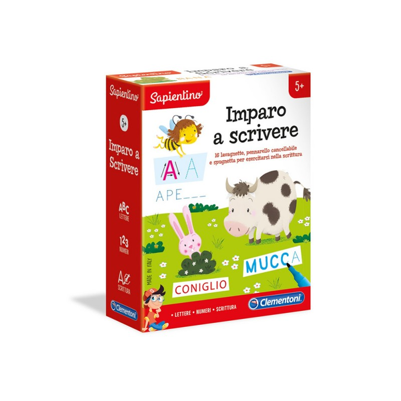 Sapientino Imparo A Scrivere - Clementoni  - MazzeoGiocattoli.it