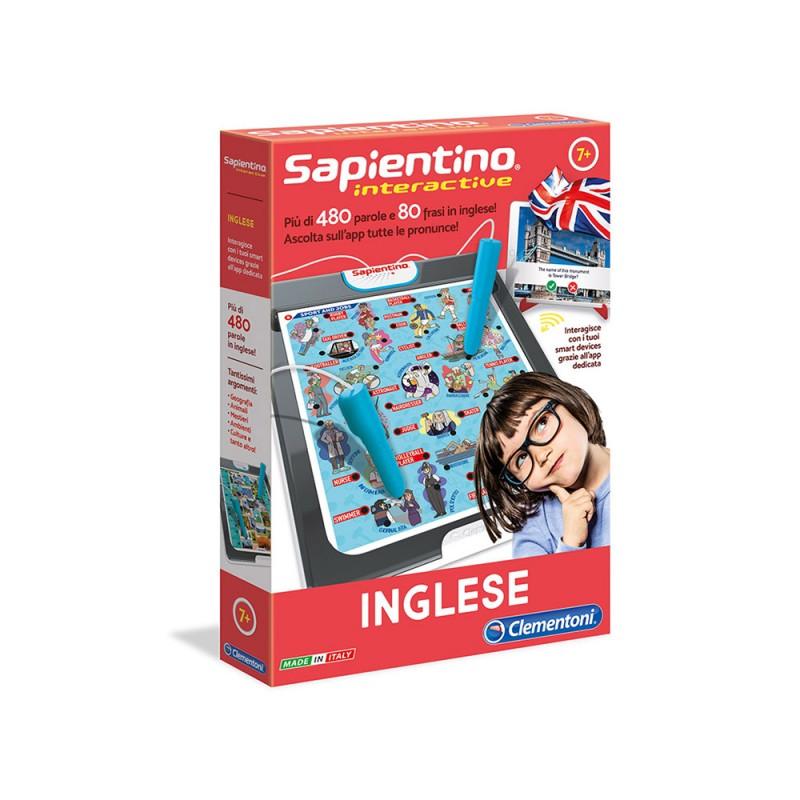 Sapientino Interactive Inglese - Clementoni - MazzeoGiocattoli.it
