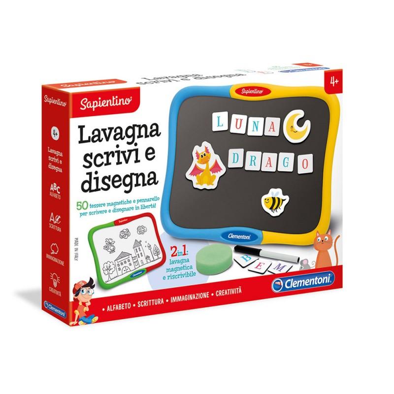 Sapientino Lavagna Scrivi E Disegna - Clementoni - MazzeoGiocattoli.it