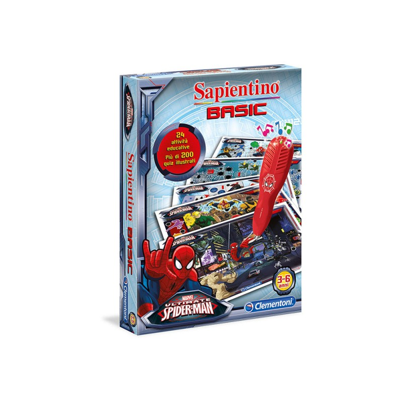Sapientino Penna Basic Spiderman Ultimate - Clementoni - MazzeoGiocattoli.it