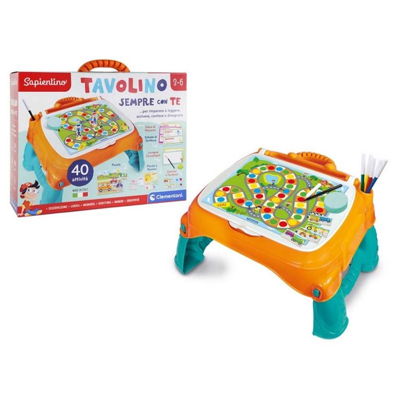 Sapientino Tavolino Sempre Con Te - Clementoni - MazzeoGiocattoli.it