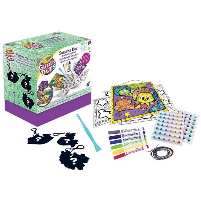 Scatola Delle Sorprese Glitter Dots - Crayola  - MazzeoGiocattoli.it