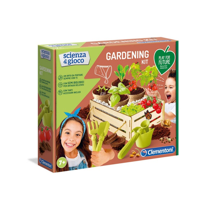 Scienza E Gioco - Gardening Kit - Clementoni  - MazzeoGiocattoli.it