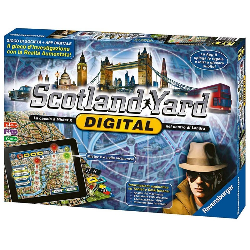 Scotland Yard Digital - Ravensburger - MazzeoGiocattoli.it