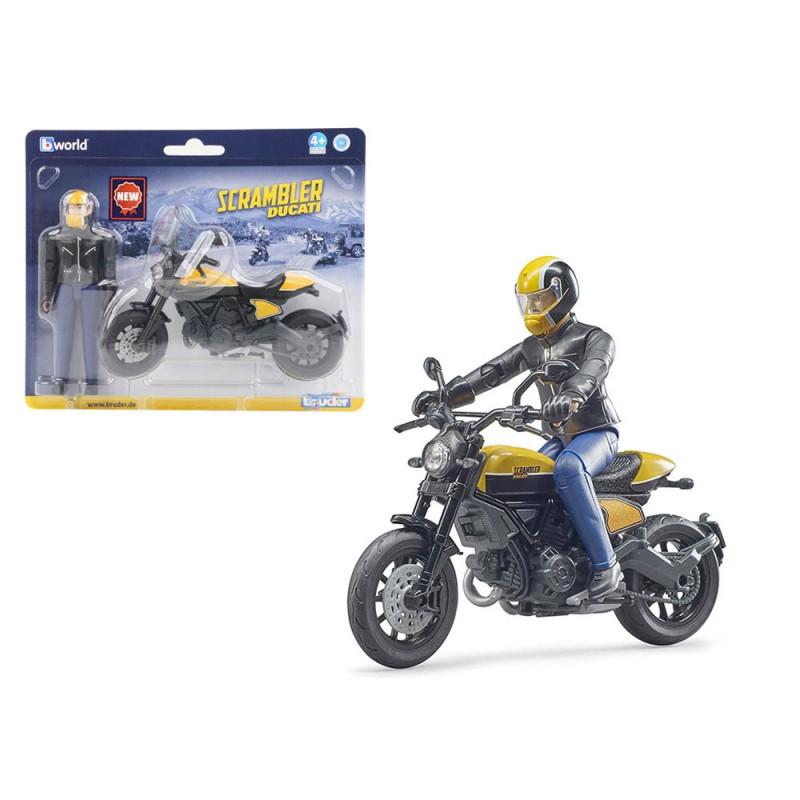 Scrambler Ducati Moto - Bruder  - MazzeoGiocattoli.it