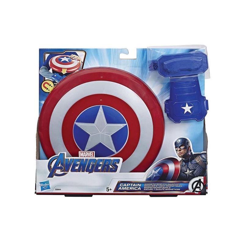 Scudo E Guanto Di Captain America - Hasbro - MazzeoGiocattoli.it