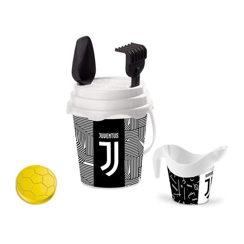 Secchiello E Attrezzi Mare Juventus - Mondo  - MazzeoGiocattoli.it