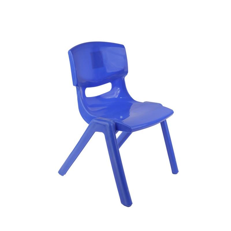 Sediolina Blu In Plastica Per Bambini - Mazzeo Giocattoli  - MazzeoGiocattoli.it