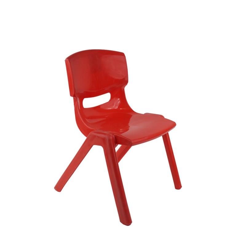 Sediolina Rossa In Plastica Per Bambini - Mazzeo Giocattoli  - MazzeoGiocattoli.it