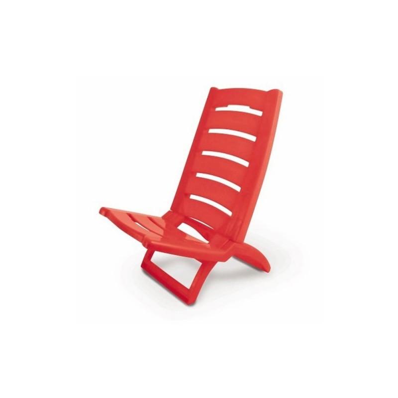 Sedia Spiaggina Color Rosso - Adriatic  - MazzeoGiocattoli.it
