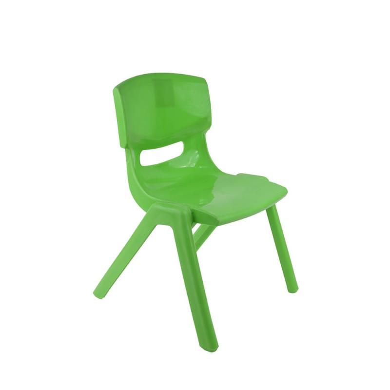 Sediolina Verde In Plastica Per Bambini - Mazzeo Giocattoli  - MazzeoGiocattoli.it