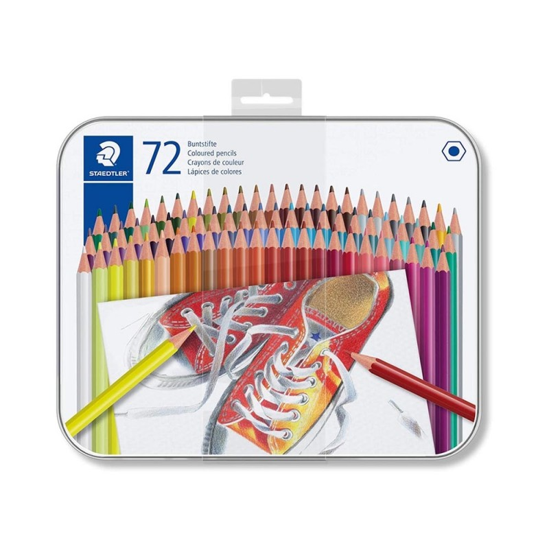 Set 72 Matite Colorate - Staedtler  - MazzeoGiocattoli.it