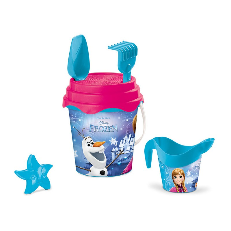 Set Da Spiaggia Frozen Bucket Set - Mondo - MazzeoGiocattoli.it