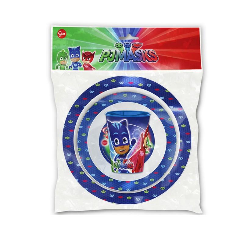 Set Pappa 3 Pezzi PJ Masks  - MazzeoGiocattoli.it