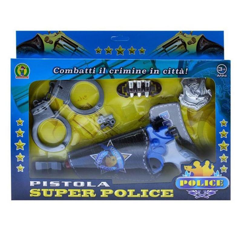 Set Pistola Giocattolo Polizia - Mazzeo Giocattoli - MazzeoGiocattoli.it