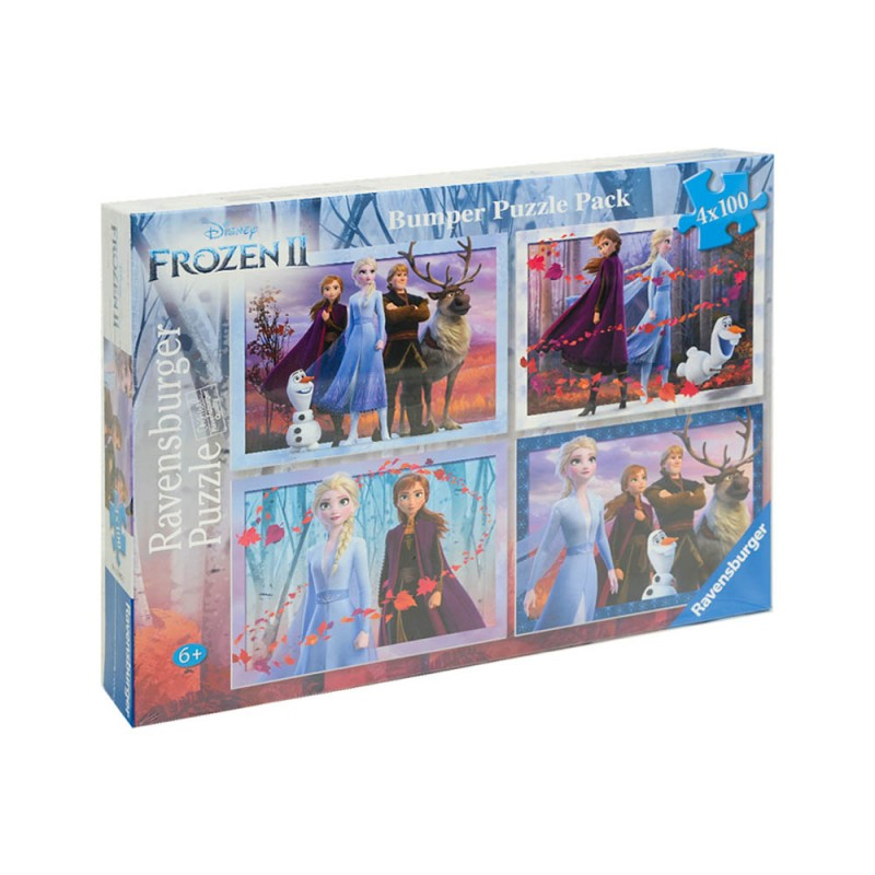 Set Puzzle Frozen 2 Disney - Ravensburger  - MazzeoGiocattoli.it