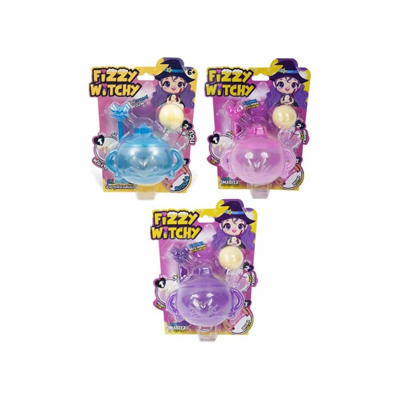 Set Slime Fizzy Witchy - Grandi Giochi - MazzeoGiocattoli.it