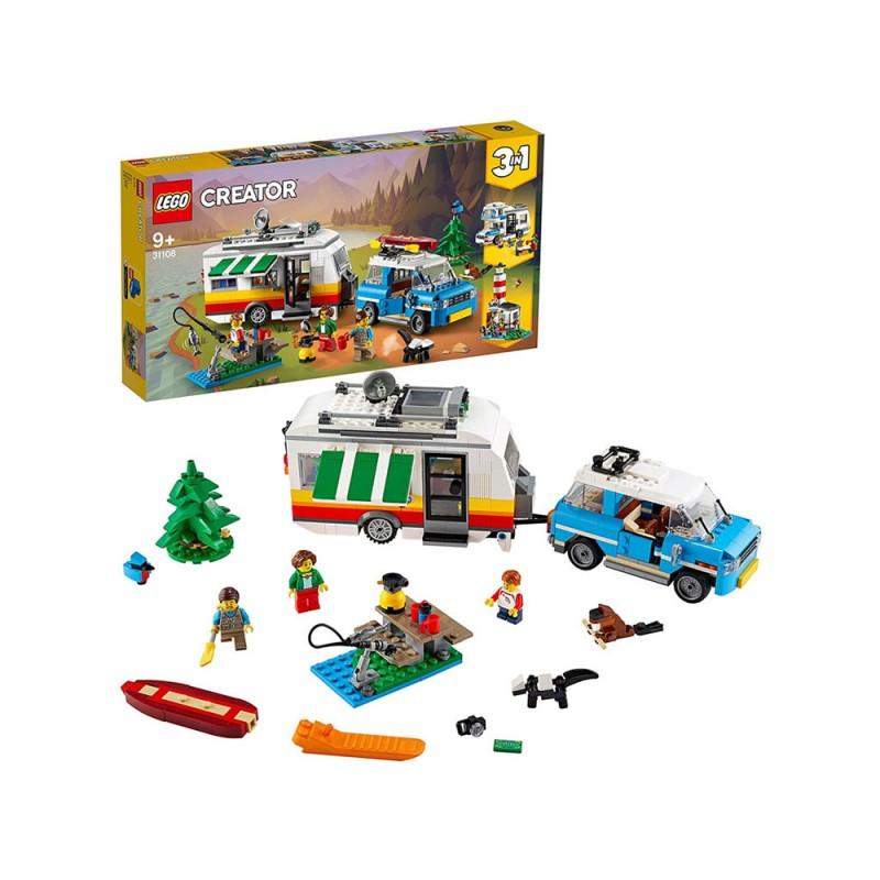 Set Vacanze In Roulotte 3 In 1 - Lego - MazzeoGiocattoli.it