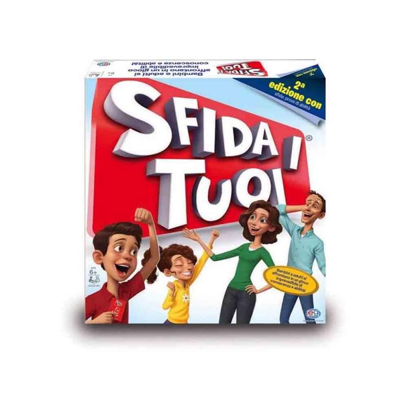 Sfida I Tuoi, Seconda Edizione Con Le Challenge - Editrice Giochi  - MazzeoGiocattoli.it