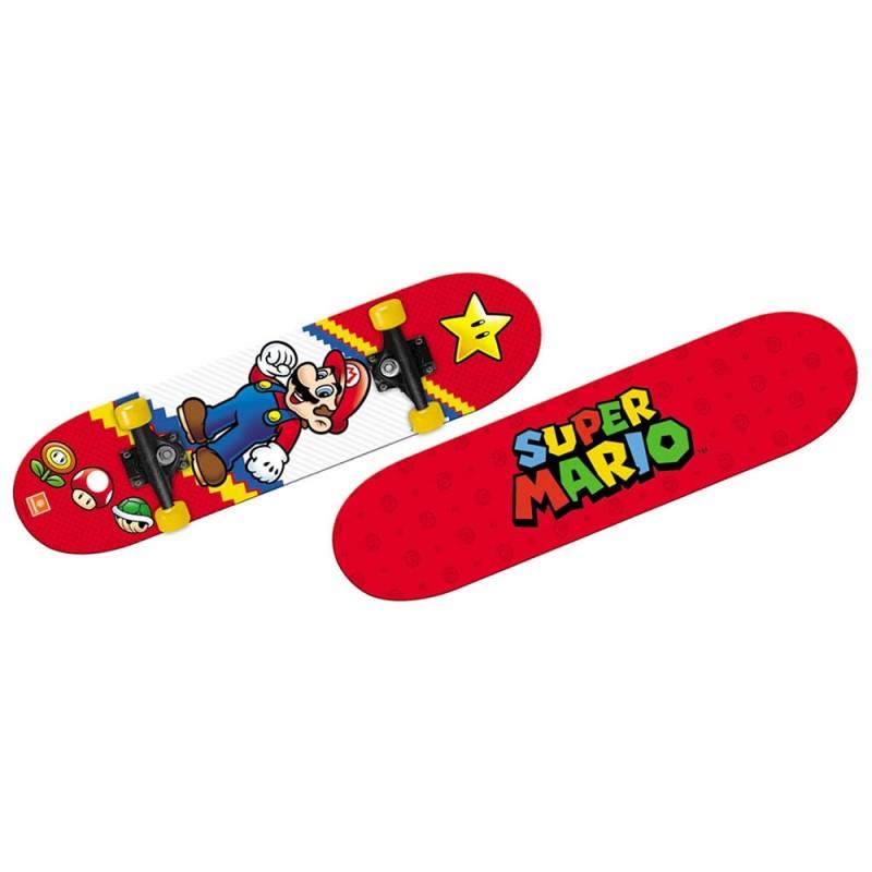 Skateboard Personaggio Super Mario - Mondo - MazzeoGiocattoli.it