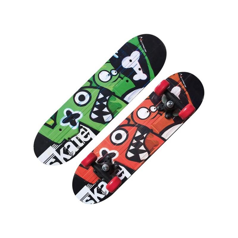 Skateboard Tribe Monsters Con Tribali - Garlando  - MazzeoGiocattoli.it