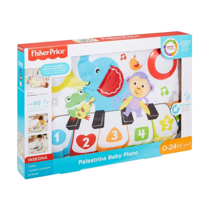 Smart Stages Kick & Play Piano - Fisher Price  - MazzeoGiocattoli.it