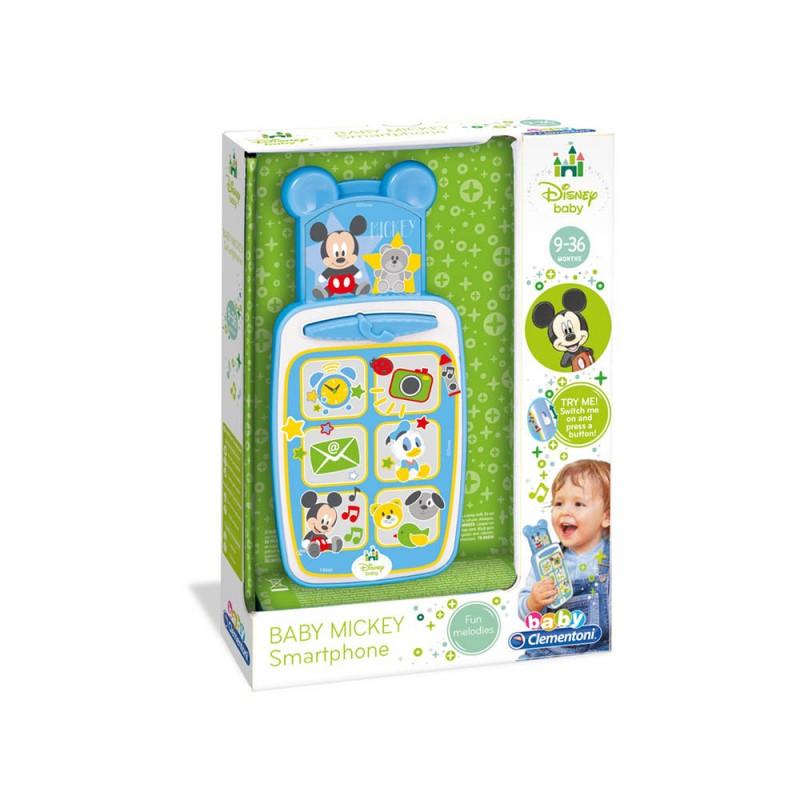 Smartphone Baby Mickey - Clementoni  - MazzeoGiocattoli.it