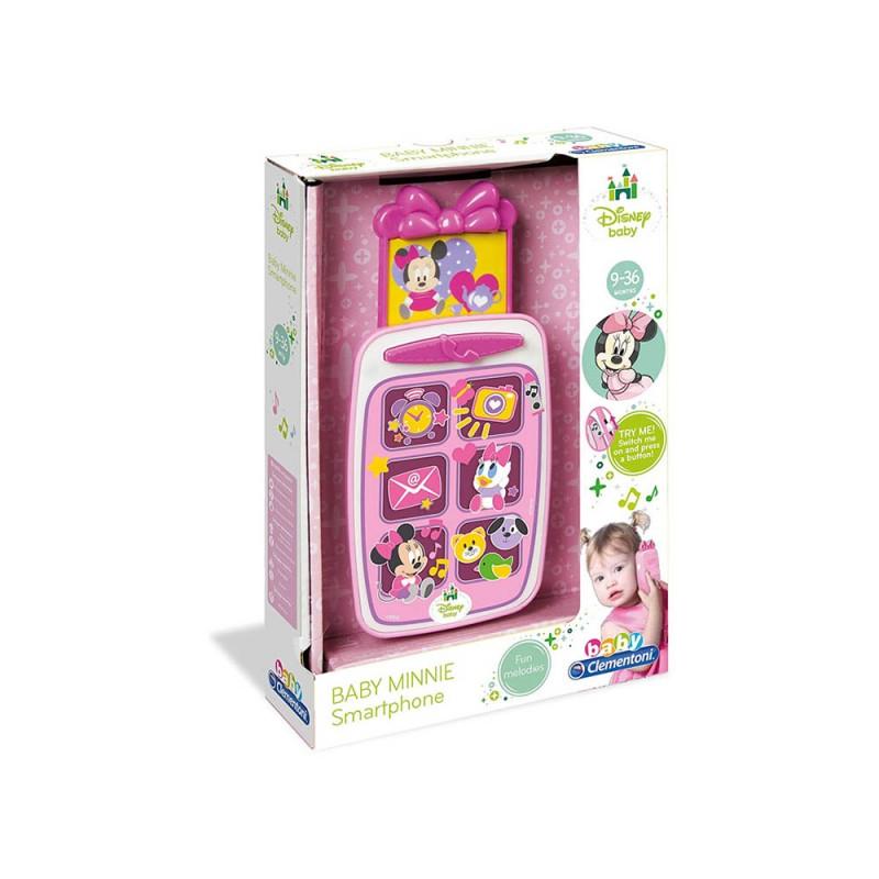 Smartphone Baby Minnie - Clementoni  - MazzeoGiocattoli.it