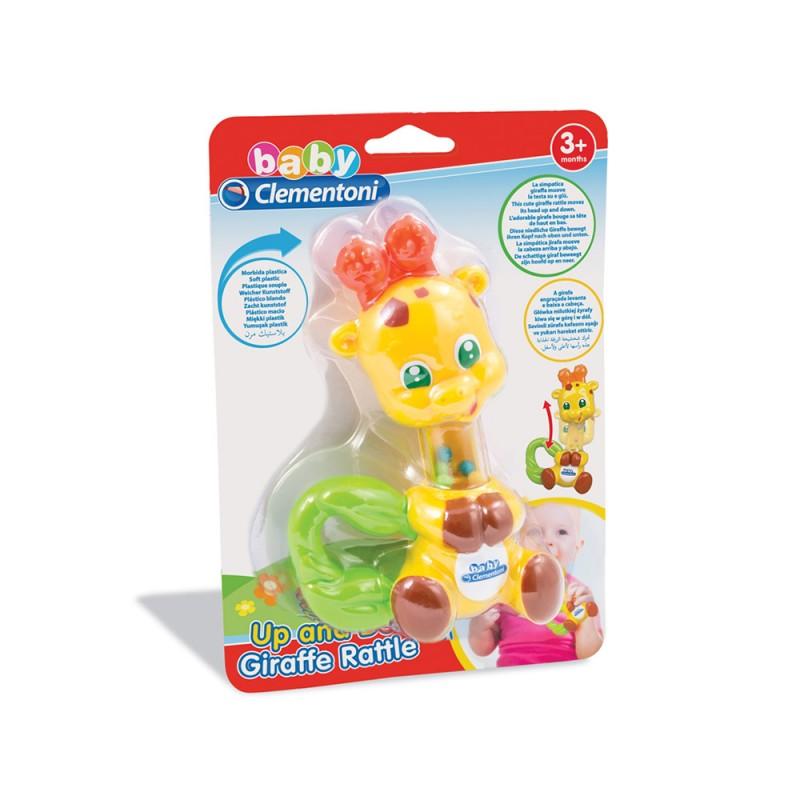 Sonaglino Giraffa Baby Clementoni - Clementoni  - MazzeoGiocattoli.it