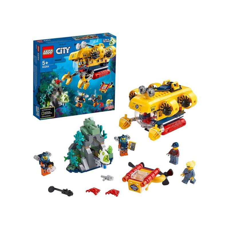 Sottomarino Da Esplorazione - Lego City  - MazzeoGiocattoli.it