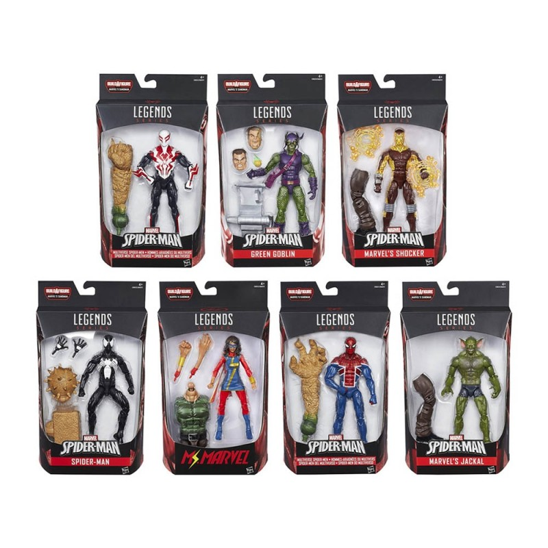 Spider-Man Marvel Legends Series - Hasbro  - MazzeoGiocattoli.it