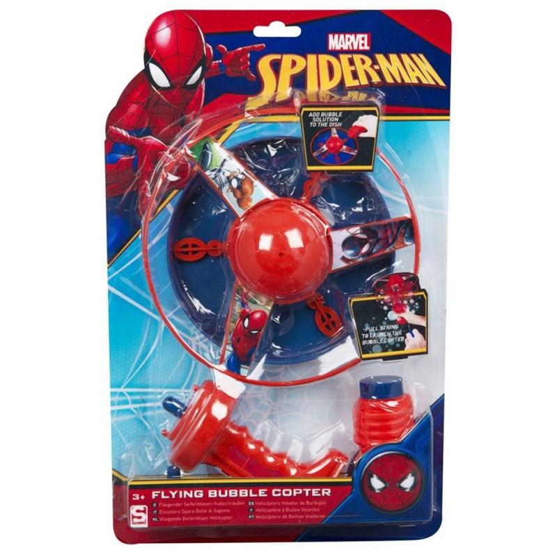 Spara Bolle Di Sapone Spiderman Marvel  - MazzeoGiocattoli.it