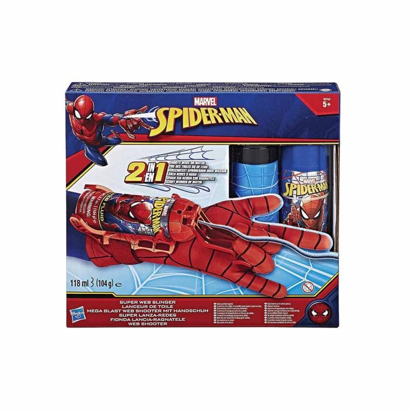 Spiderman Guanto Spara Ragnatele - Hasbro - MazzeoGiocattoli.it