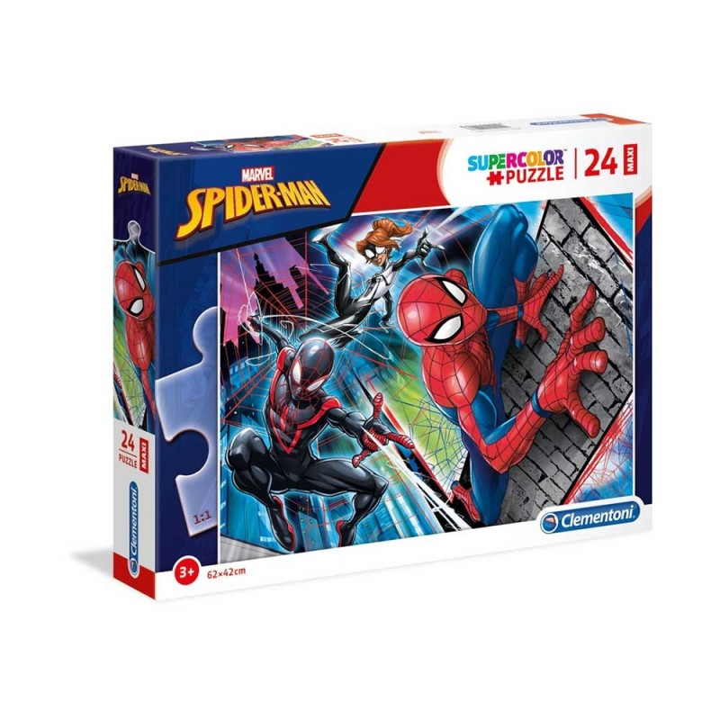 Spiderman Supercolor Puzzle - Clementoni  - MazzeoGiocattoli.it