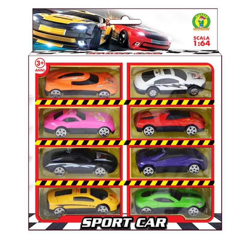 Modellini Di Macchine 1:64 Die Cast Sport Car - Mazzeo Giocattoli - MazzeoGiocattoli.it