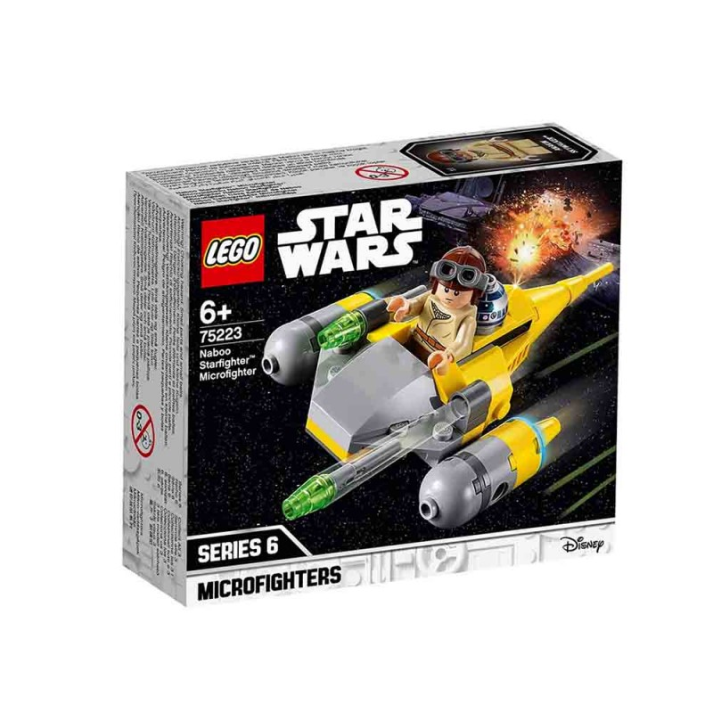 Star Wars - Microfighter Naboo Starfighter - Lego - MazzeoGiocattoli.it
