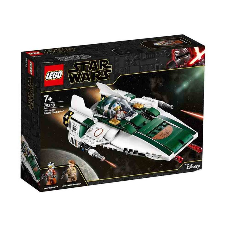 Star Wars Episode IX A-Wing Starfighter Della Resistenza - Lego - MazzeoGiocattoli.it