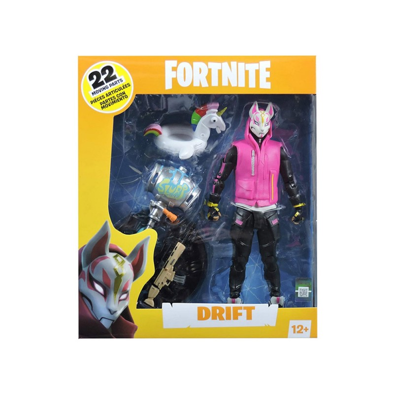 Statuetta Action Figure Drift - Fortnite  - MazzeoGiocattoli.it