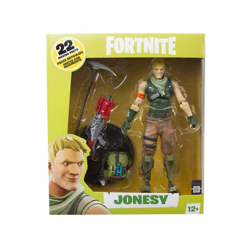 Statuetta Action Figure Jonesy - Fortnite  - MazzeoGiocattoli.it
