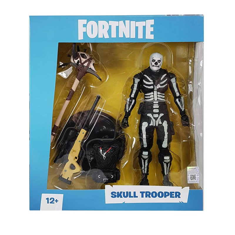Statuetta Action Figure Skull Trooper - Fortnite  - MazzeoGiocattoli.it