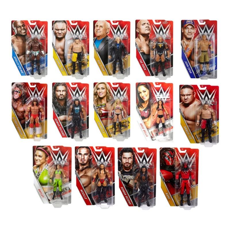 Statuetta Personaggio WWE 18 Cm - Mattel  - MazzeoGiocattoli.it
