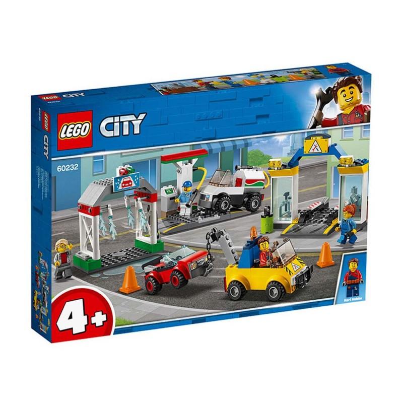 Stazione Di Servizio E Officina - Lego City  - MazzeoGiocattoli.it