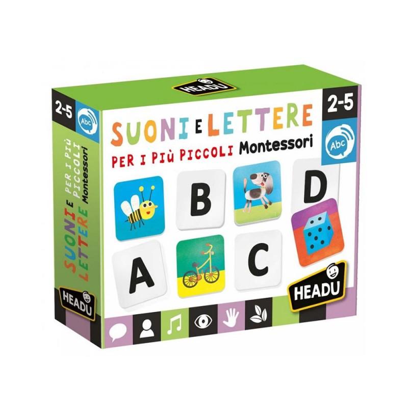Suoni E Lettere Per I Più Piccoli Montessori - Headu  - MazzeoGiocattoli.it