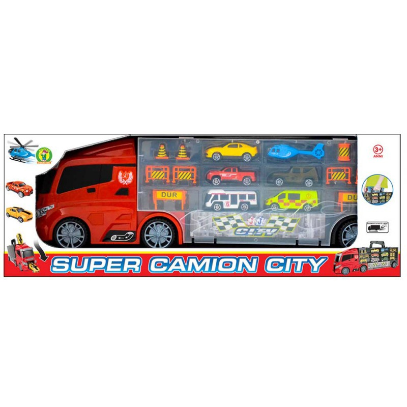 Playset Camion  Super Camion City - Mazzeo Giocattoli - MazzeoGiocattoli.it