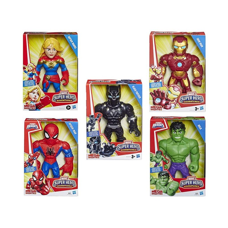 Super Hero Adventures Mega Mighties - Hasbro  - MazzeoGiocattoli.it