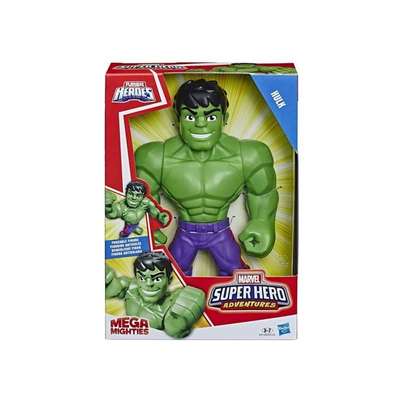 Super Hero Adventures Mega Mighties Hulk - Hasbro  - MazzeoGiocattoli.it